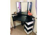 Medders Dressing Table with Mirror - Wayfair