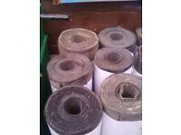 10 rolls of heavy-duty felt