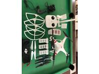 DJI Phantom with accessories