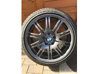 BMW E46 M3 19 INCH ALLOYS