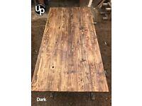 Reclaimed Wood Table Tops. Handmade