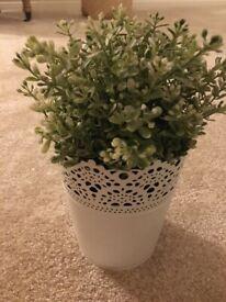 Ikea small artificial plant
