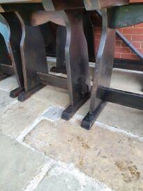OAK rustic tables