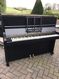 John Broadwood &sons satin black upright piano | Belfast pianos |free delivery