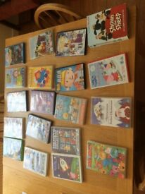 Kids DVDs -23 DVDs for £10 or will sell individually for £0.50 each