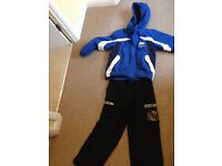 Boys Ski Jacket and trousers - Snow suit