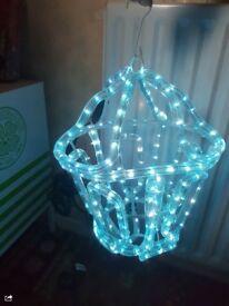 Outdoor/indoor Christmas lantern