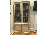Cream bookcase - £130 - reduced price