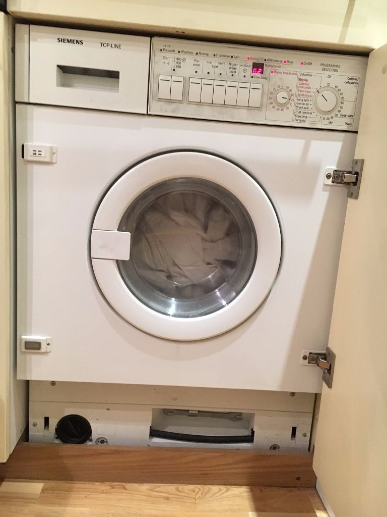 siemens top line integrated washer dryer spares or repairs in city of london london gumtree. Black Bedroom Furniture Sets. Home Design Ideas