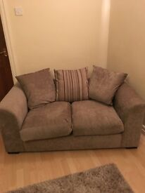 3 seater and 2 seater sofa and matching rug for sale