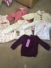 Girls 9-12 month large clothes bundle
