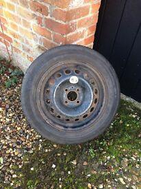 Spare tire 185/60 R 15