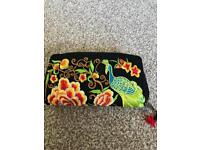 Hand-stitched purse from Thailand