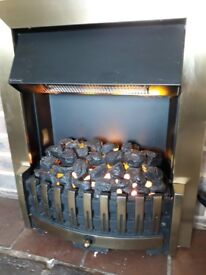 Dimplex Danville smoke-and-flame effect 'Opti-Myst'™ electric fire for sale.