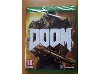 Brand New Video Game DOOM for XBOX ONE