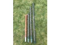 Garden Plant Stakes/Supports x 4