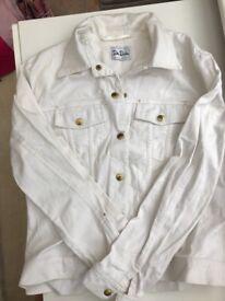 Betty Barclay White Denim Shirt