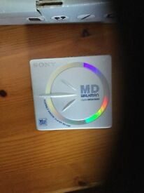 Mini CD player recorders