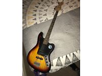 Fender Squier Sunburst Jaguar Bass
