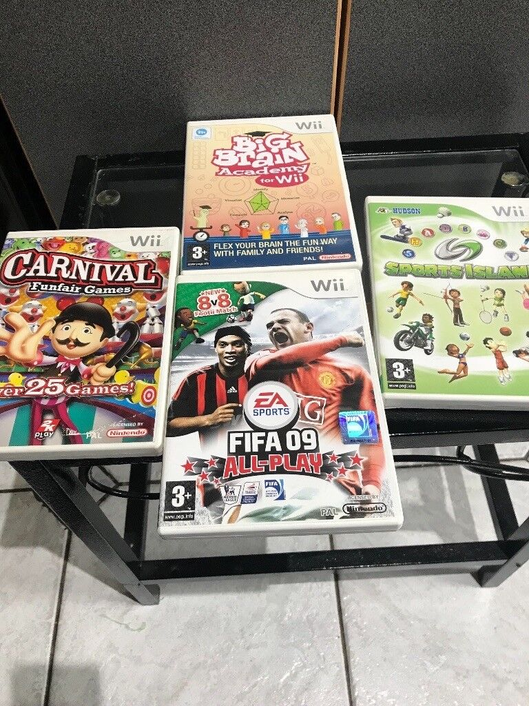 Wii assorted games