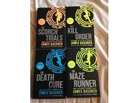 The Maze runner 4 books series