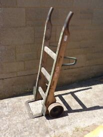 Sack truck .slingsby. Cast iron wheels