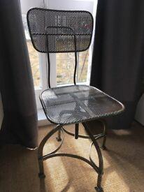 Lovely Metal chair - industrial look