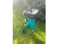 Bosch electric shredder PWO garden chipper for making mulch compost any test lawnmower trimmer mower
