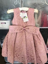New 3-4 years old girls dress