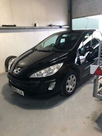 Peugeot 308s low mileage long MOT till 2019