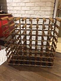 Wine rack 64 bottles