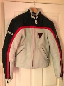 Dainese lady lather jacket size 44