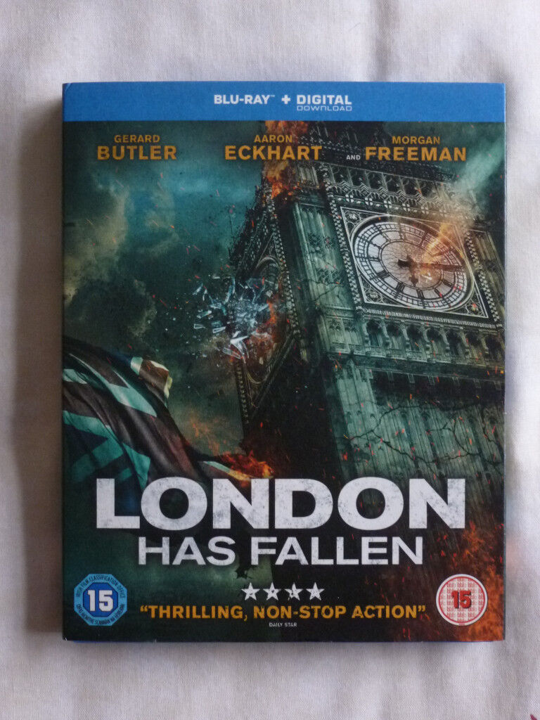 LONDON HAAS FALLEN BLU-RAY DVD