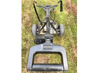 Electric Golf Trolley with battery and charging lead