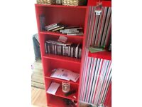 Ikea red bookcase