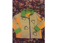 Gruffalo fleece jacket 3-4 yrs