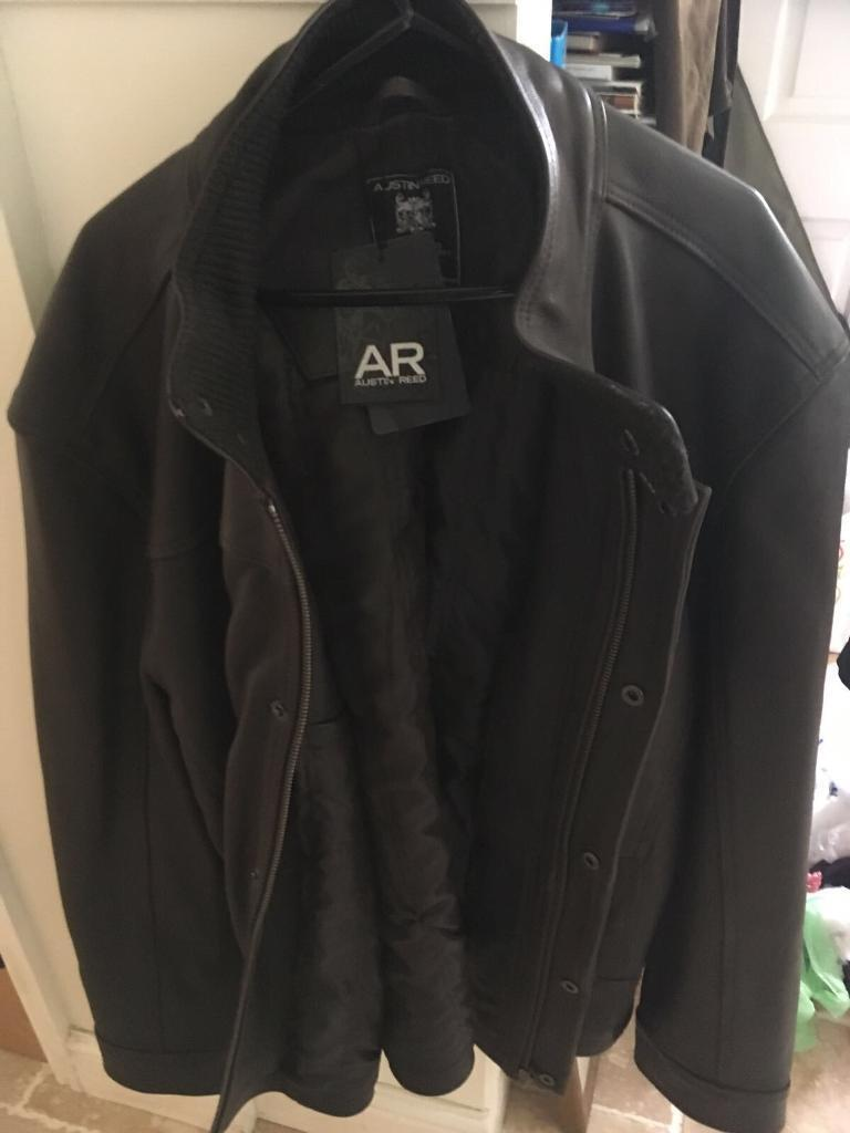 Brand new Austin Reed leather jacket