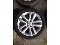 Astra , Vectra ,17 inch alloy wheels
