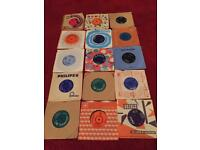45s Vinyls collection x 15 including elvis MAKE OFFER