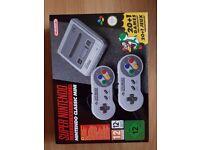 Genuine Nintendo Classic SNES Mini Brand New
