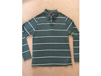 Man' s ZARA long sleeves top size L (100% cotton)