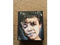 Twin Peaks the entire mystery and the missing pieces blu ray.