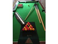 7ft x 4ft Pool/Snooker Table For Sale