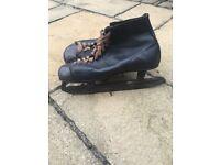 Men's vintage Fagan size 9 ice skates