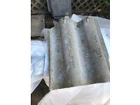 65 Reclaimed Alban High Profile Contour Grey Concrete Roofing Tiles Reg Debion 858167