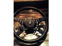 Ford sierra xr2 xr3 steering wheel banger car race grass tracking or classic kit cars etc £20