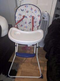 Baby high chair!