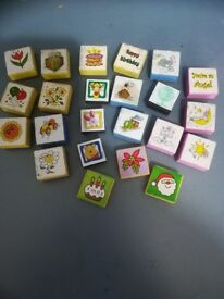 Paper craft stamps