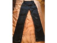 Long Tall Sally Maternity Jeans Size 12