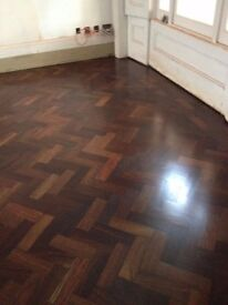 Antique Iroko Wooden Blocks - flooring